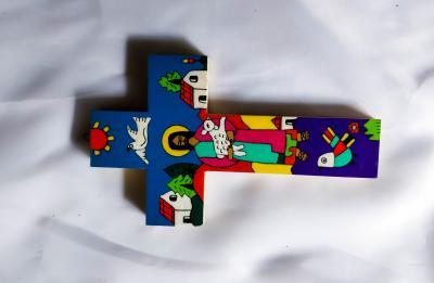 Cruz El Buen Pastor