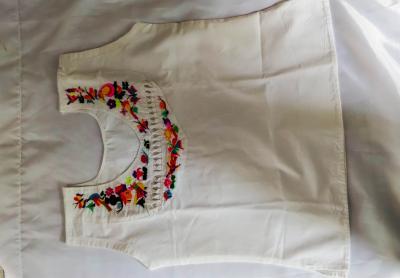 Blusas de manta sin mangas para dama
